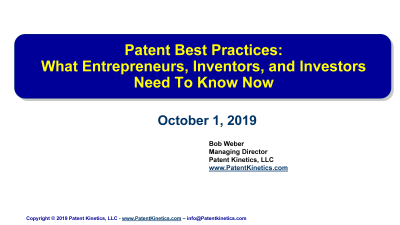 Pages from Weber - Patent Best Practices Oct 1 2019