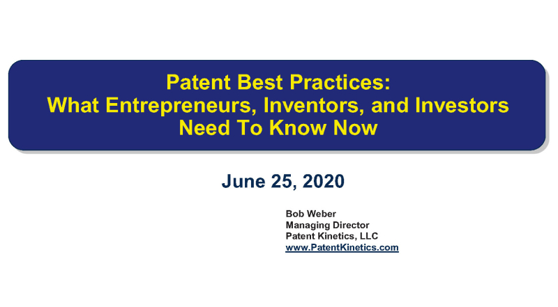 Patents page 1